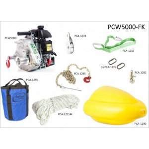 GAS-POWERED PORTABLE WINCH 1000KG WITH FORESTRY KIT