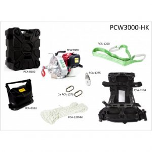 GAS-POWERED PORTABLE WINCH 700KG WITH HUNTING KIT