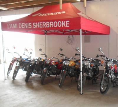 motos antiques honda expo restauration remise en etat en marche